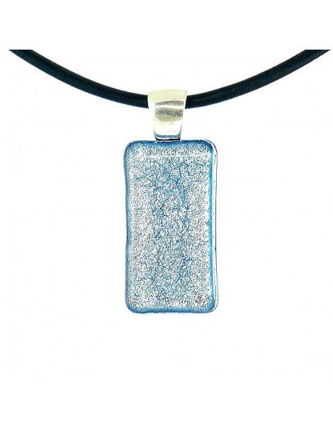 Collier Softy Argent bleuté
