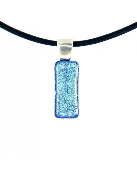 Collier Softy Bleu azur