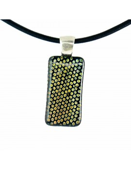 Collier Softy Petits pois Jaune