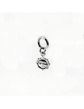 Breloque soleil en Argent 925 pour Bracelet ou Collier