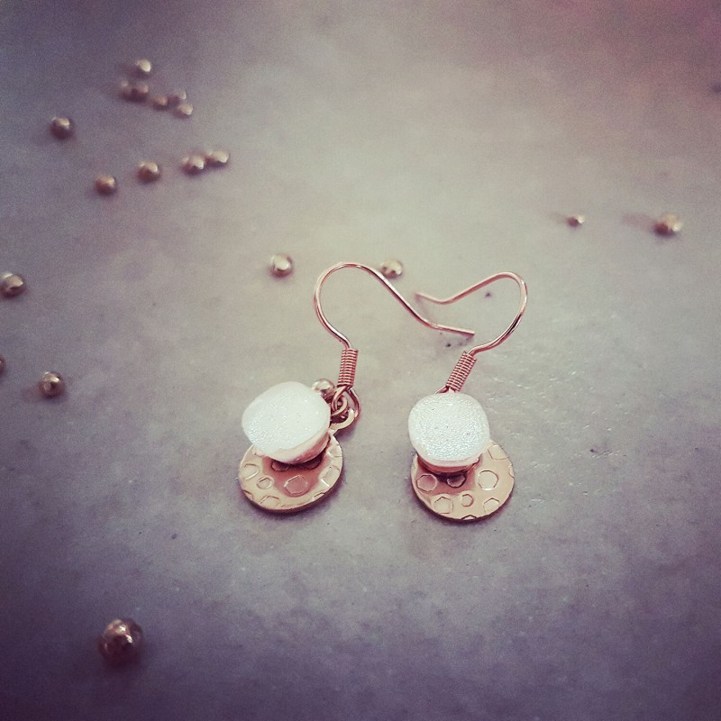 boucle d'oreille inoxydable
