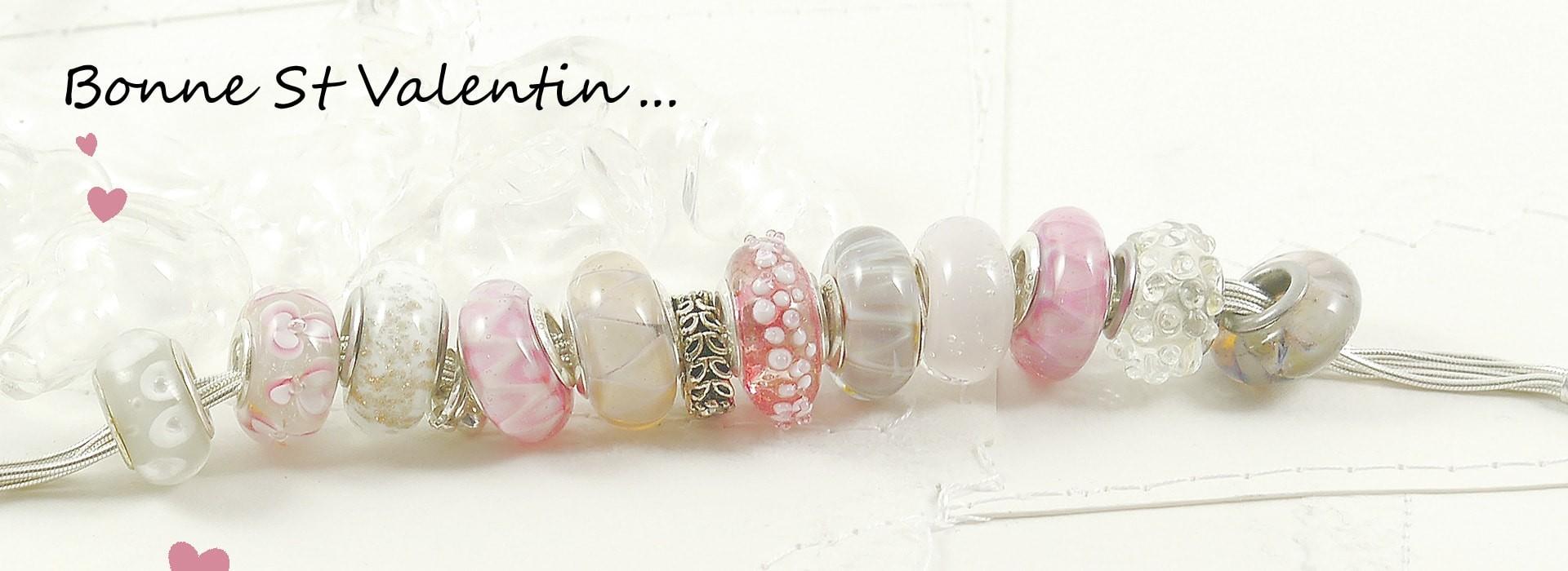 Bijoux perles en verre de Murano