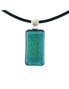 Collier Softy Bleu Vert emeraude