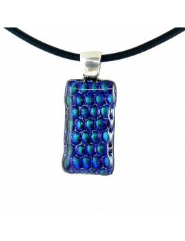 Collier Softy Bleu Vert Reptile