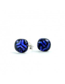 Puces d'oreilles Bleu Stroma