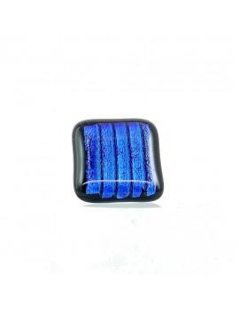 Bague Bleu strié