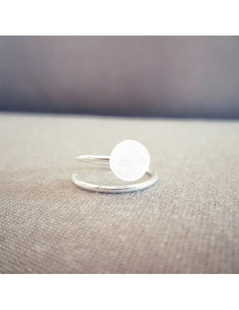 Bague Diamant en Argent 925